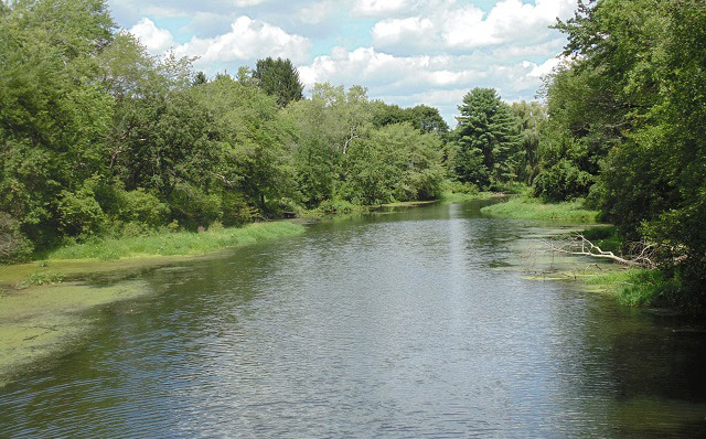 Assabet River in Hudson