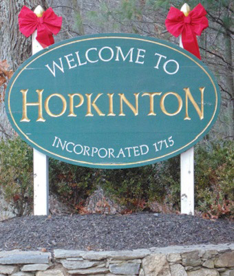 Hopkinton Sign