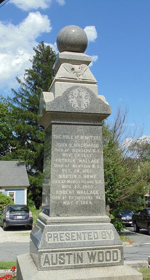 Mendon's Civil War Memorial
