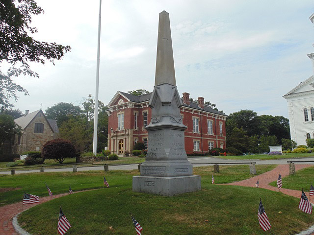 Southborough Town House's Civil War Memorial